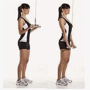 Tricep cable extensions
