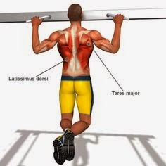 Close-grip pull up