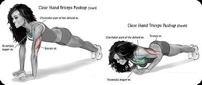 Tricep Pushups