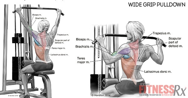 Lateral Pull-Down: