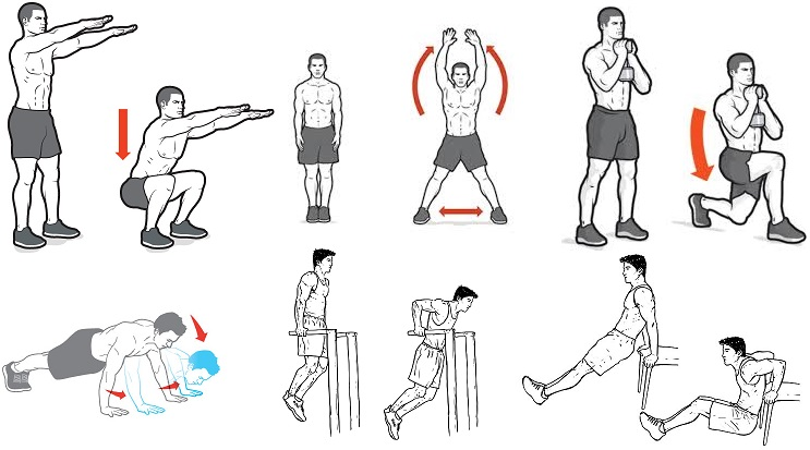 10 Minute Exercises To Do At Home
