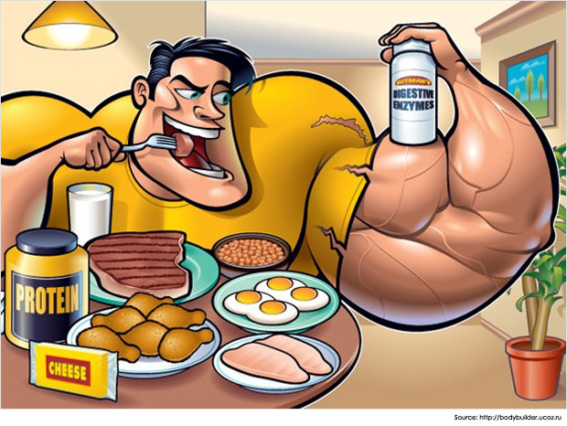 Must Eat Foods For Bigger Muscles