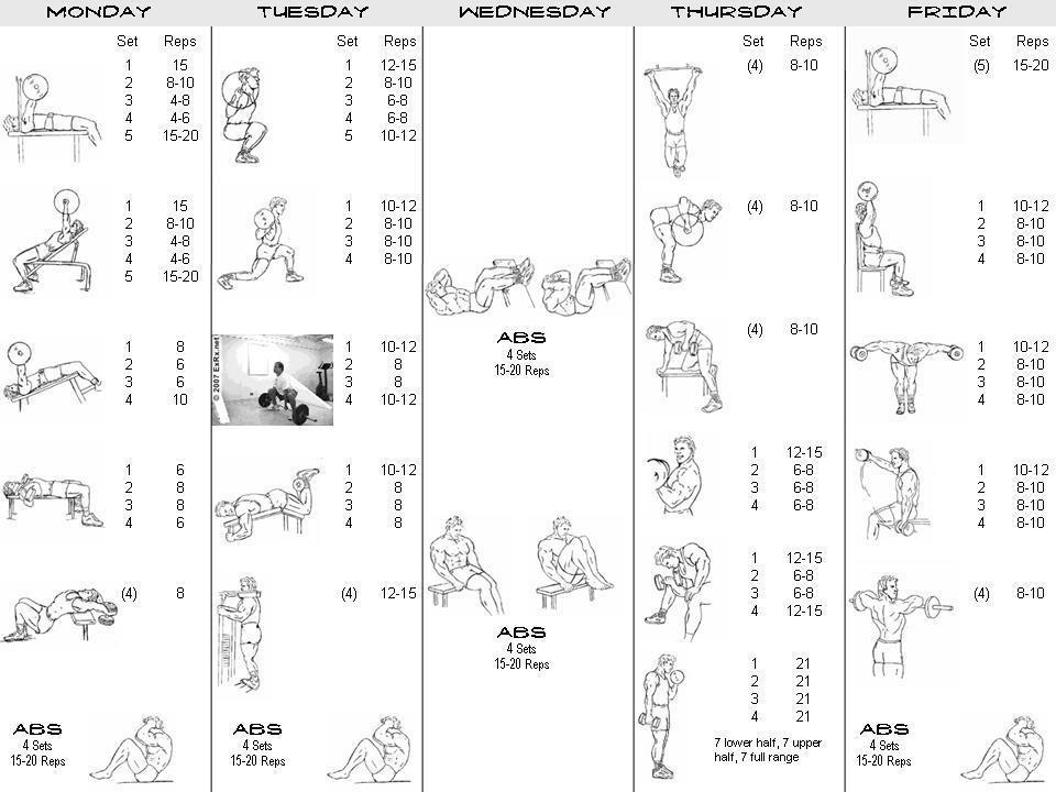 Body Building Routines