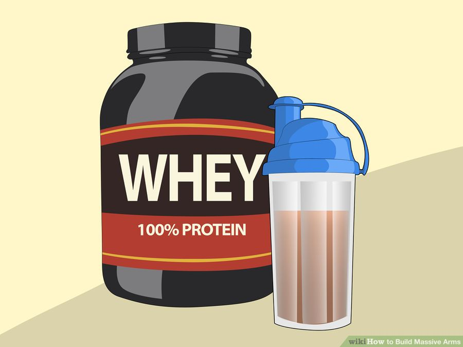 Using Whey Protein to Build Muscle Mass!