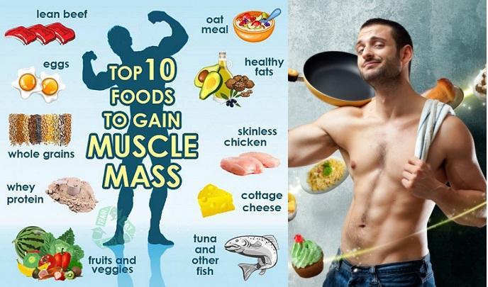 Top Ten Muscle Building Foods