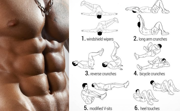 "Build Your ""Six Pack"" With a Five Minute Abs Routine"