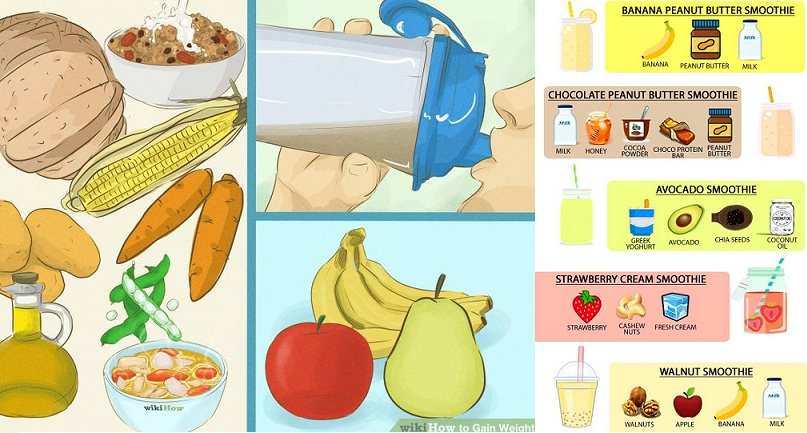 3 Types of Drinks to Gain Weight