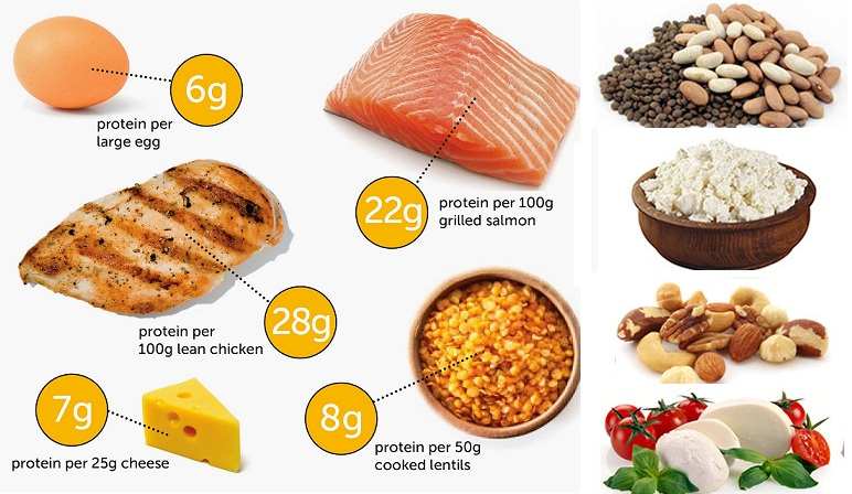 Healthy Muscle Building Diet - Top 7 Foods and Benefits