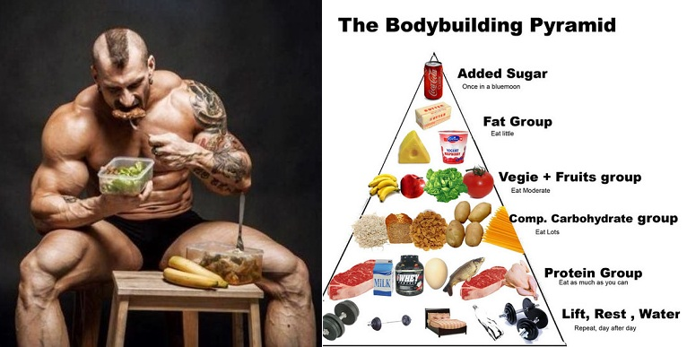 Why It Is A Must For You To Follow A Muscle Building Diet