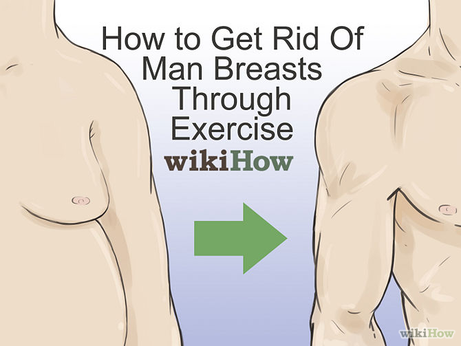 Ways to Get Rid of Man Boobs - 4 Ways to a Flatter Chest
