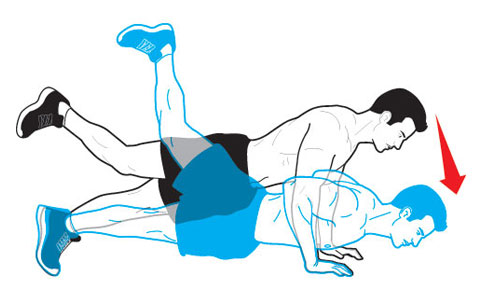 Image result for Single Leg Push-Up