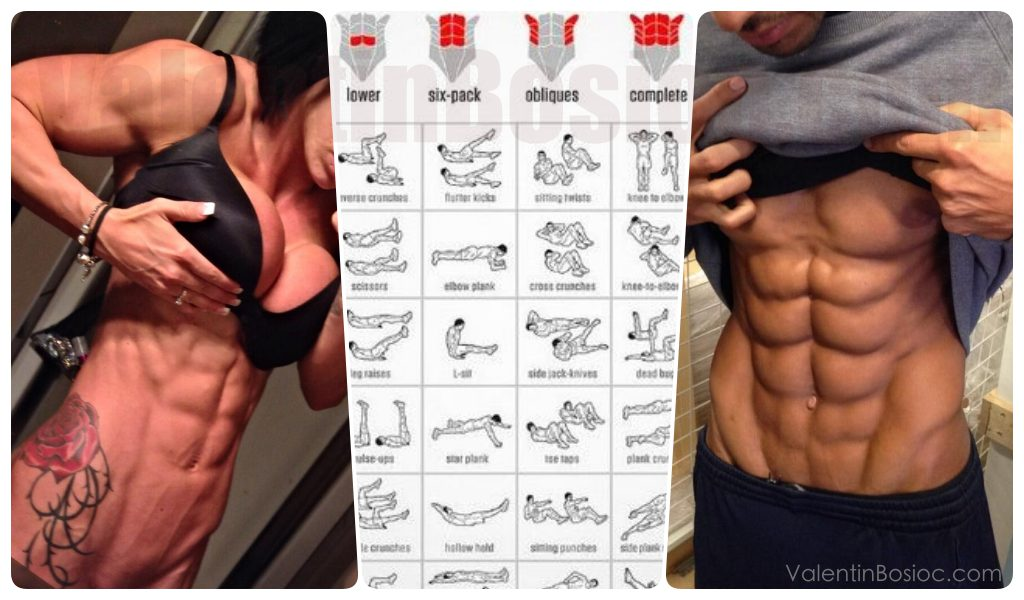10 Simple Steps to Get Six Pack Abs and to Keep It