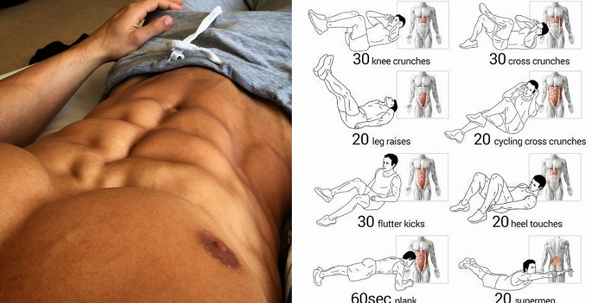 A Killer Lower Abs Workout For 8 Pack Abs